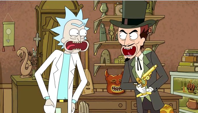 Rick battles the devil and upsets Summer. Meanwhile, Jerry and Morty hang out.