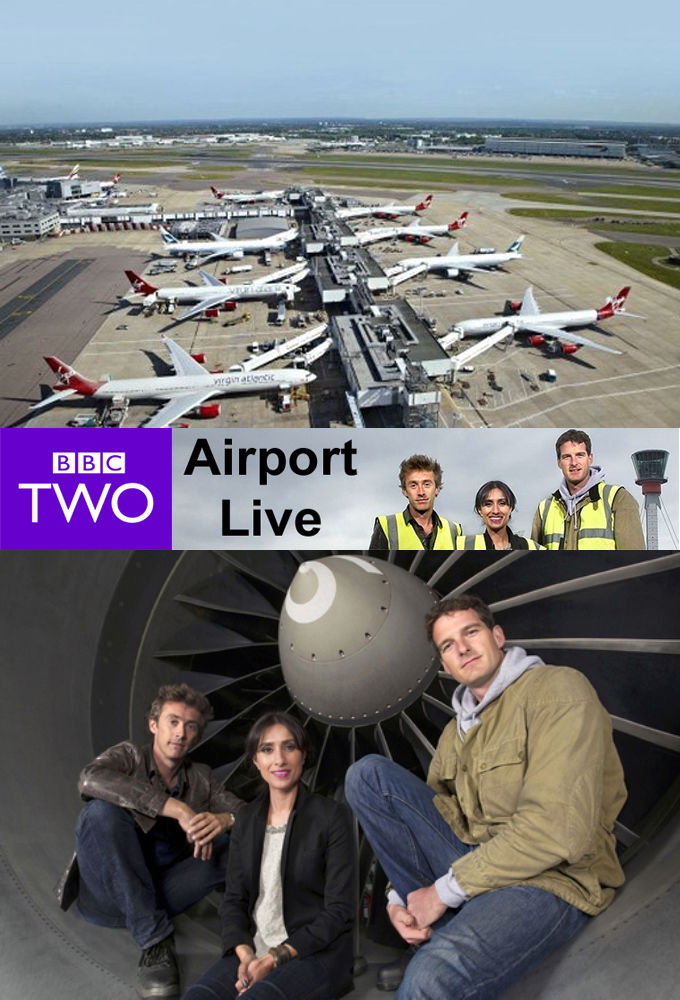 Airport Live cover