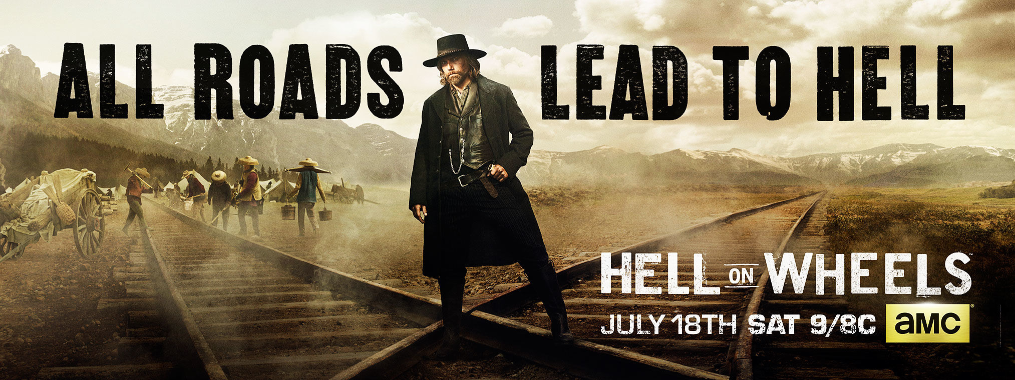 Hell on wheels wallpaper raise hell