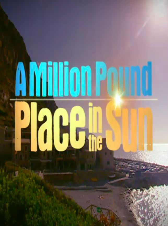 A Million Pound Place in the Sun cover