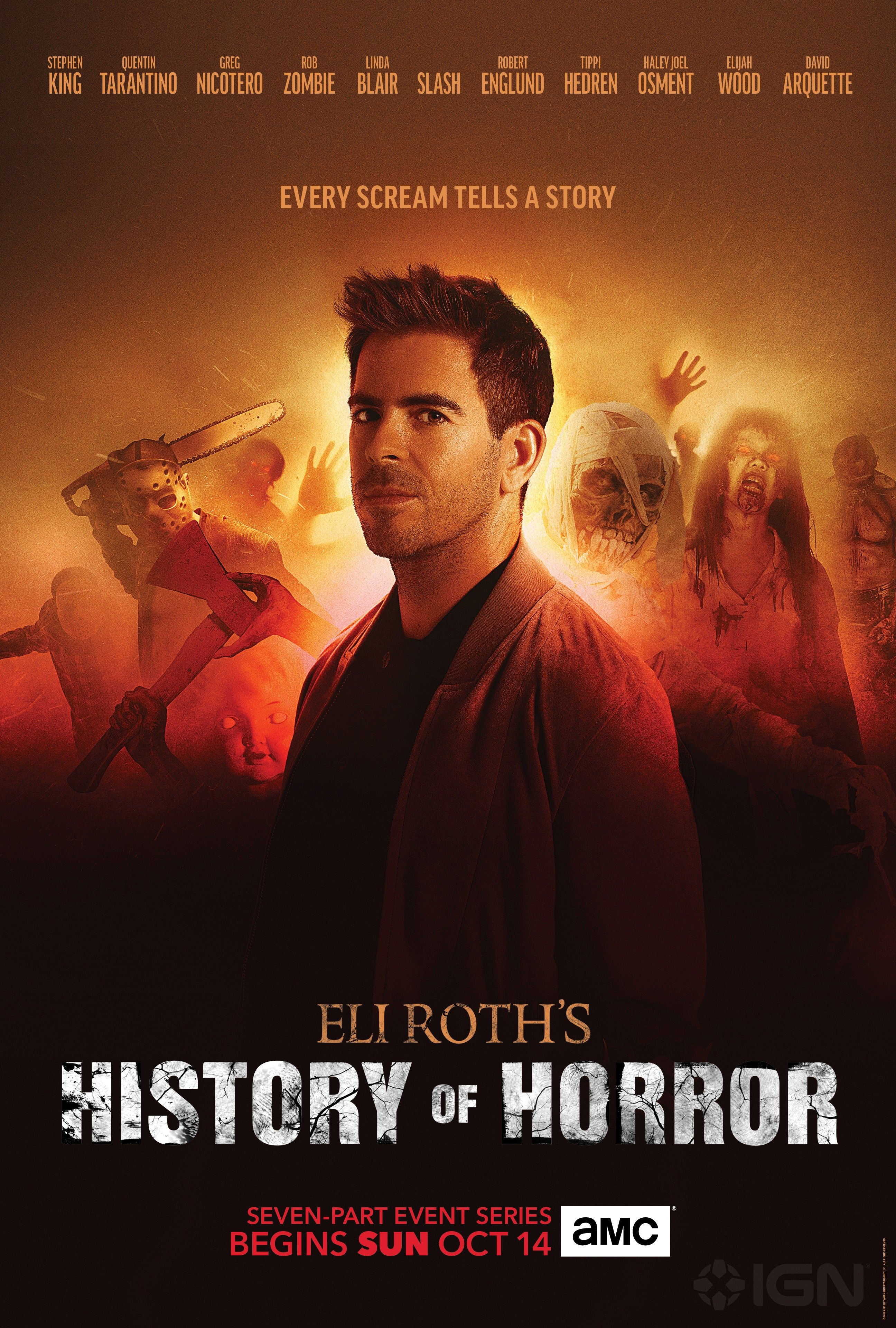 Eli Roth's History of Horror cover