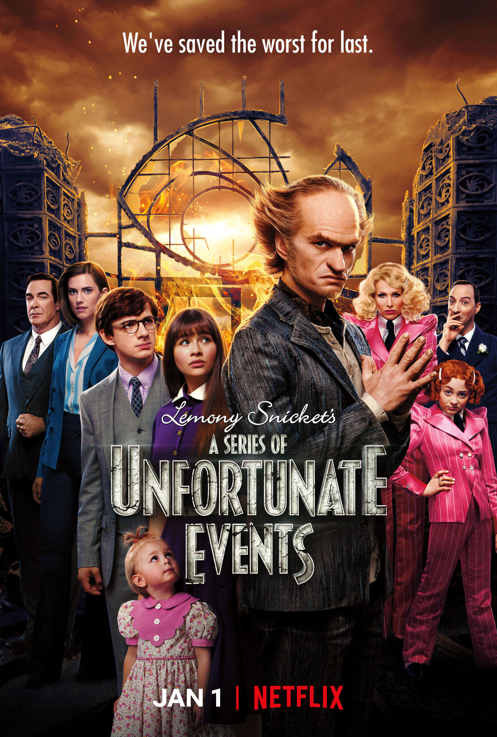 A Series Of Unfortunate Events Tvmaze