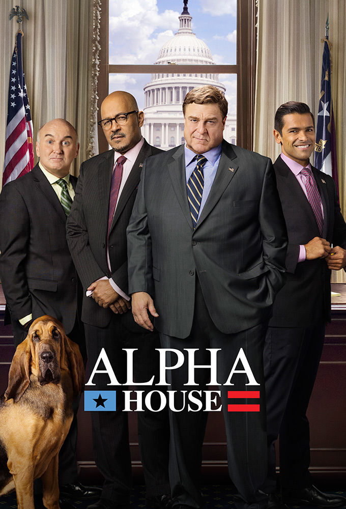 Alpha House cover