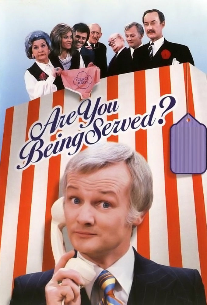 Are You Being Served? cover