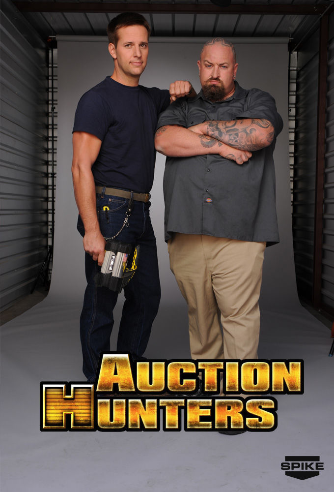 Auction Hunters cover