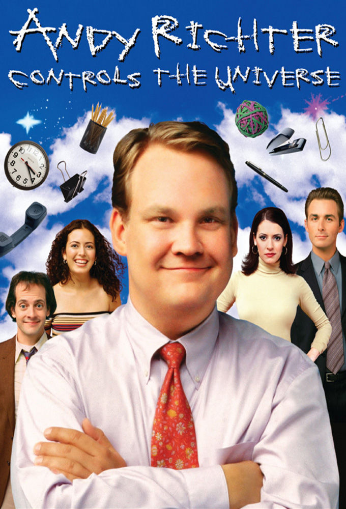 Andy Richter Controls the Universe cover