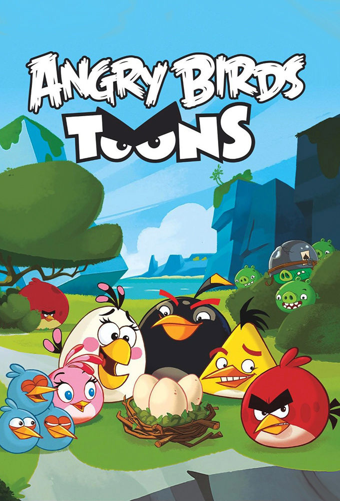 Angry Birds Toons cover