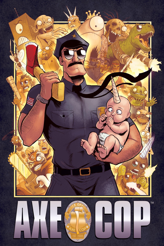 Axe Cop cover