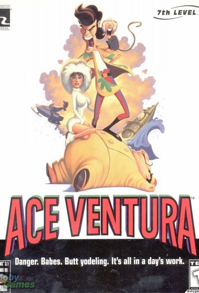 Ace Ventura: Pet Detective cover