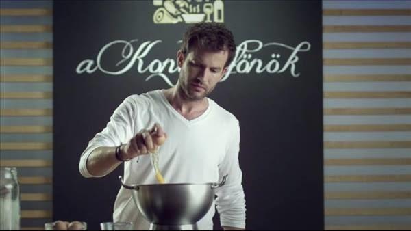 A konyhafőnök cover