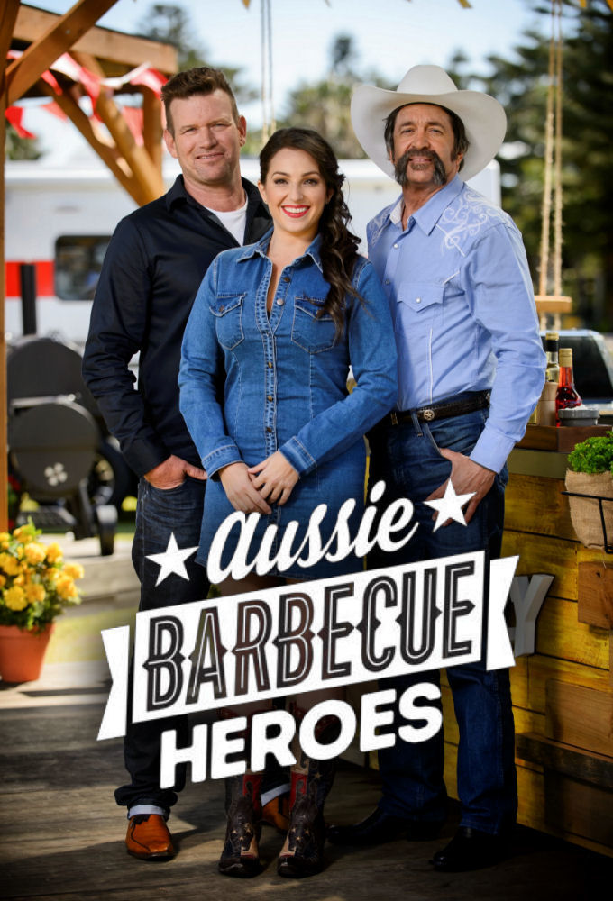 Aussie Barbecue Heroes cover