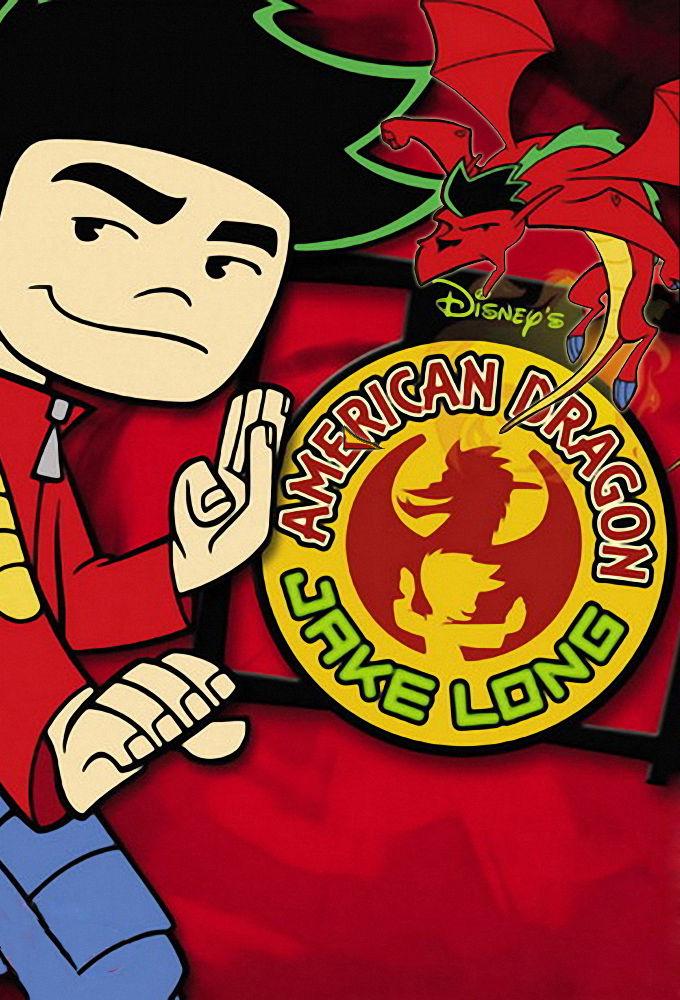 American Dragon: Jake Long cover