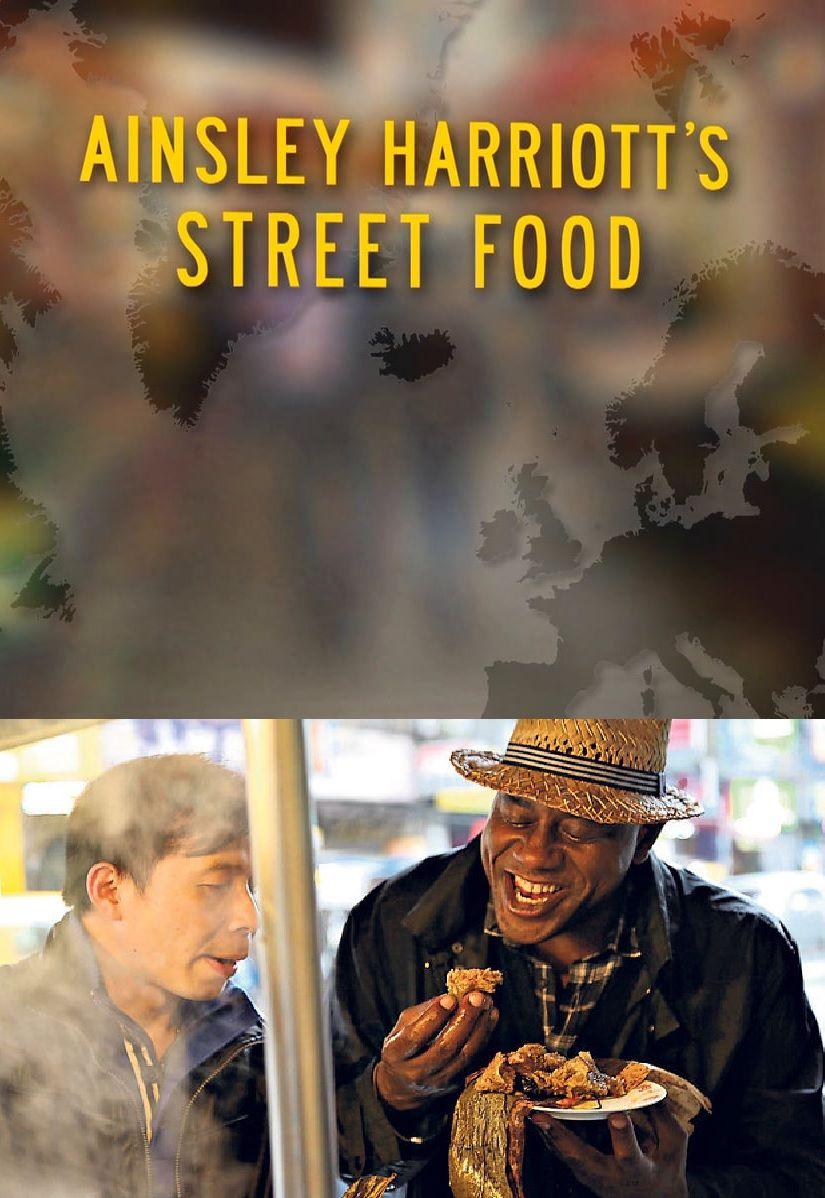 Ainsley Harriott's Street Food cover