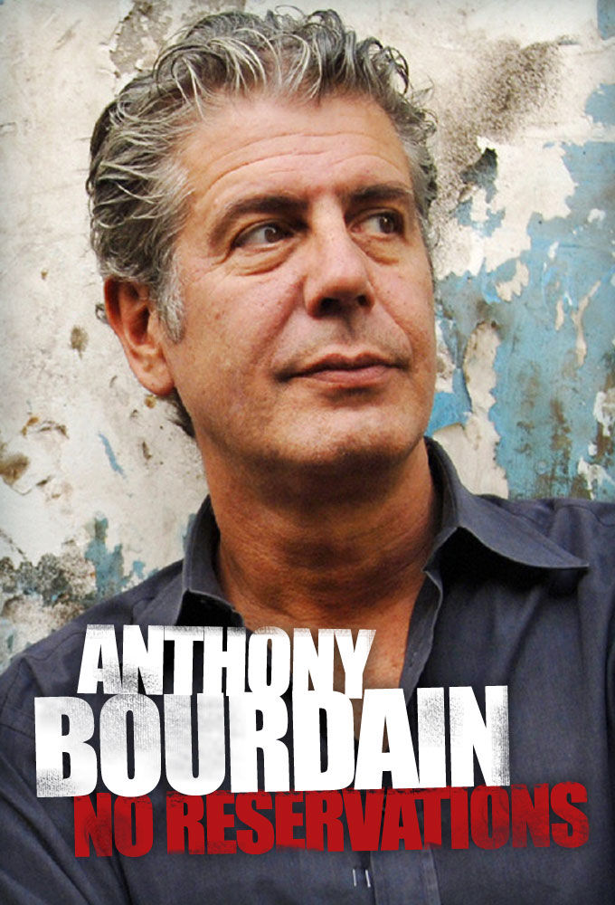 Anthony Bourdain: No Reservations cover