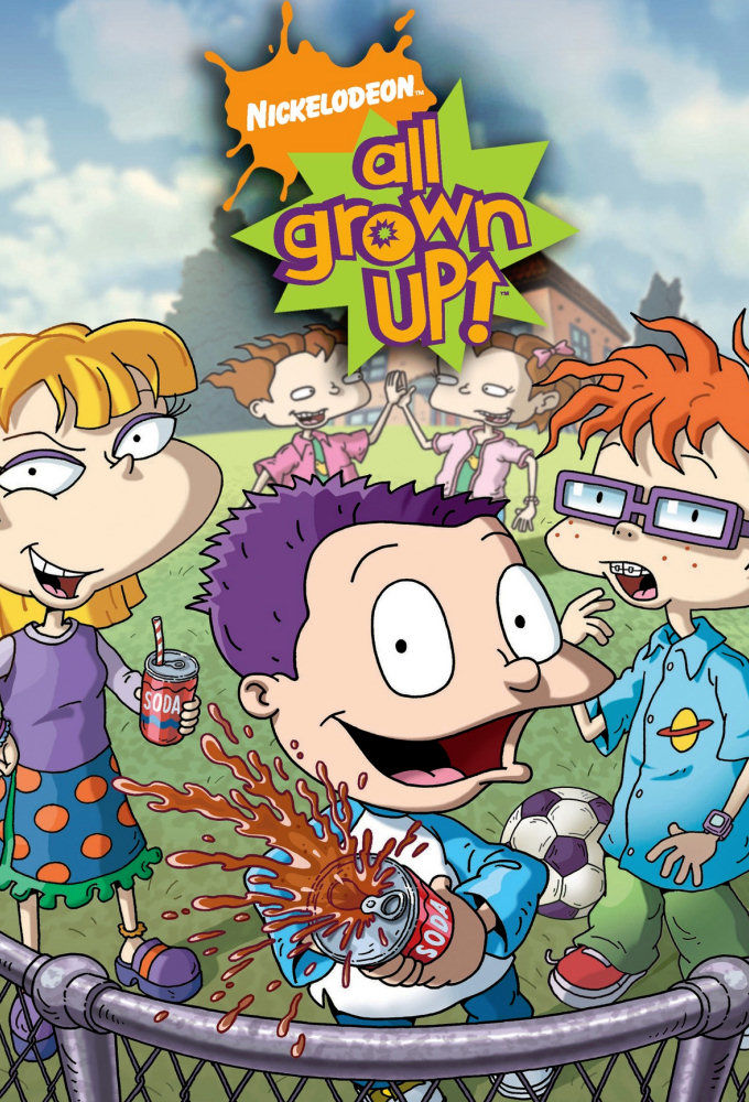 All Grown Up! cover