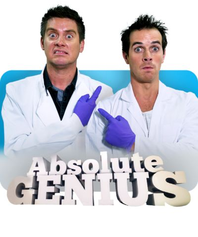 Absolute Genius with Dick & Dom cover