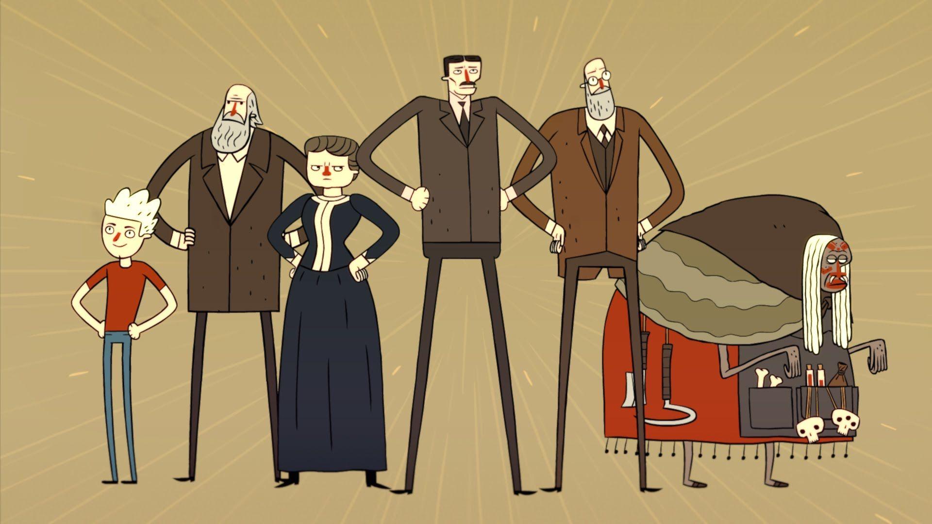 """Учёные-супергерои: """"Super Science Friends"""" и с чем его едят"""