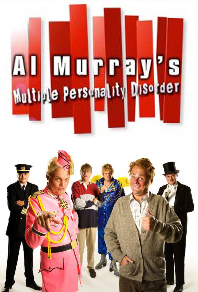 Al Murray's Multiple Personality Disorder cover