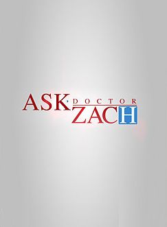 Ask Dr. Zach cover