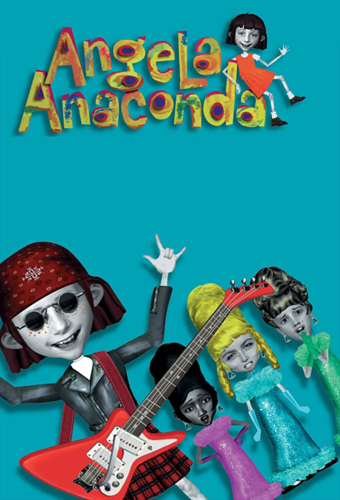 Angela Anaconda cover