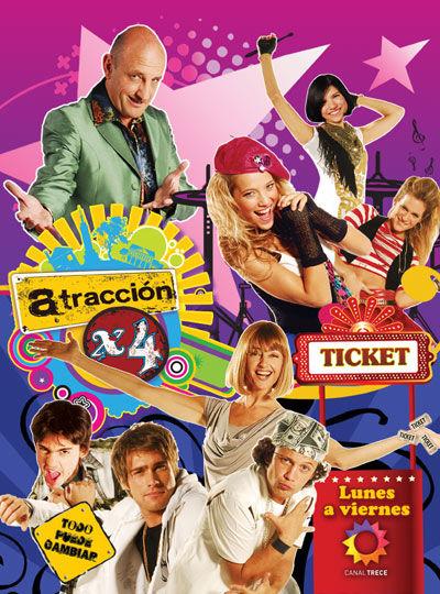 Atracción x 4 cover
