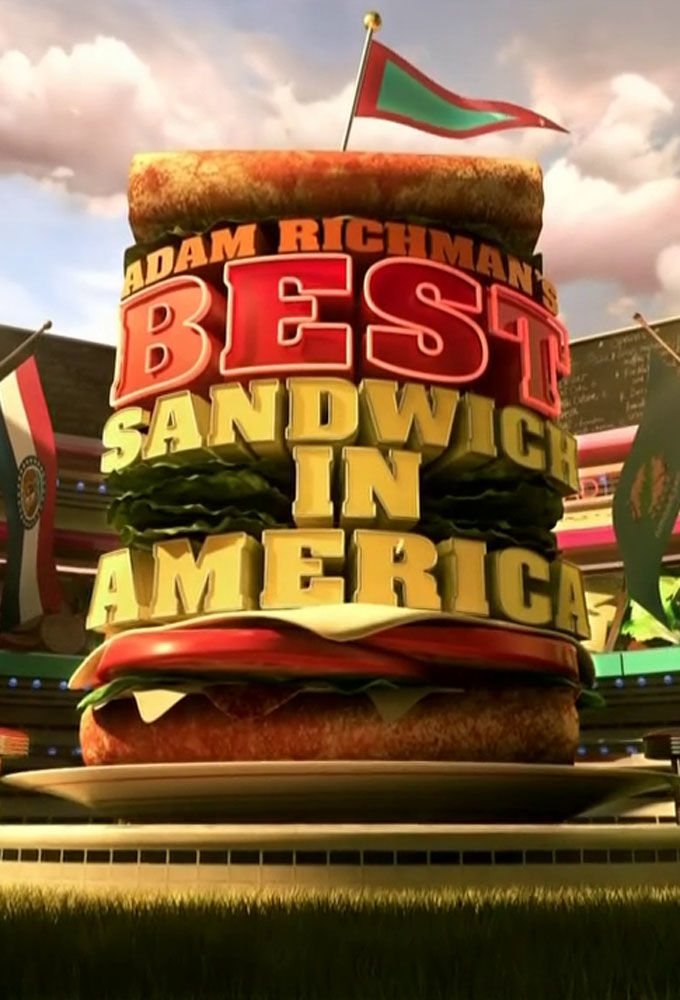 Adam Richman's Best Sandwich in America cover