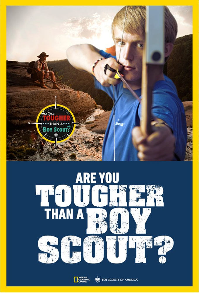 Are You Tougher Than a Boy Scout cover