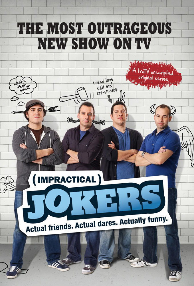 Impractical Jokers cover