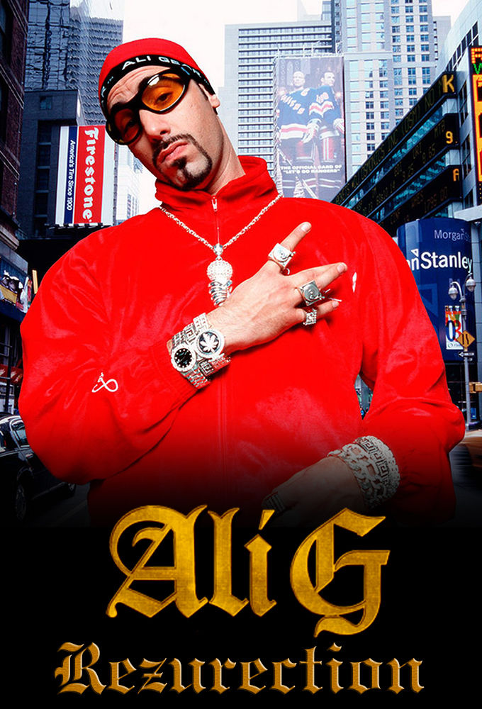 Ali G: Rezurection cover