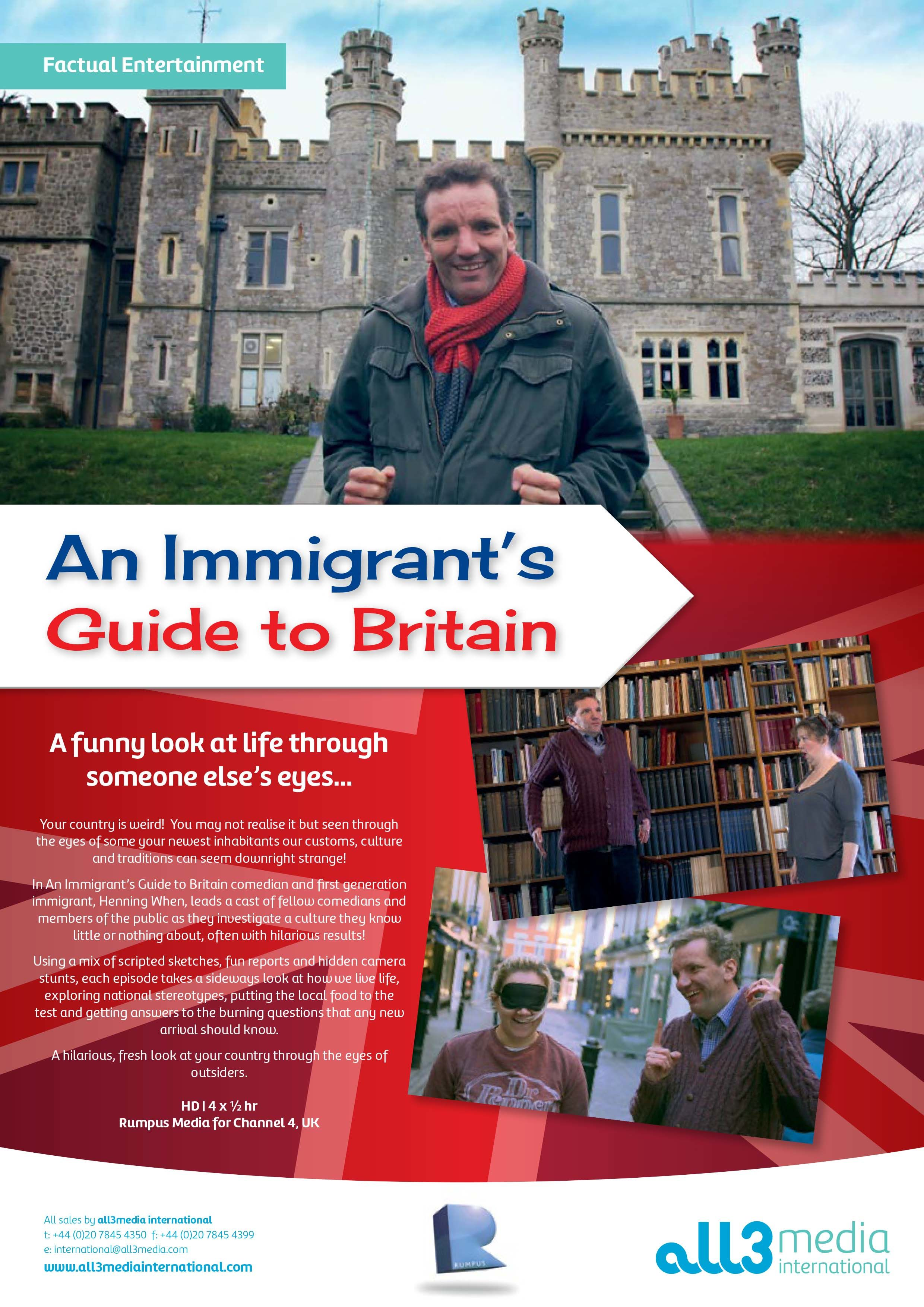 An Immigrant's Guide to Britain cover