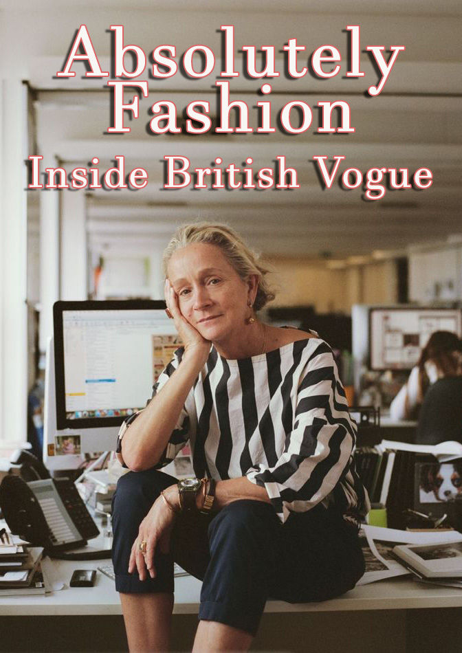 Absolutely Fashion: Inside British Vogue cover