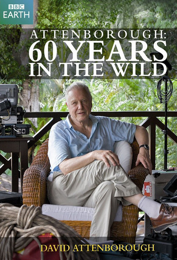 Attenborough: 60 Years in the Wild cover