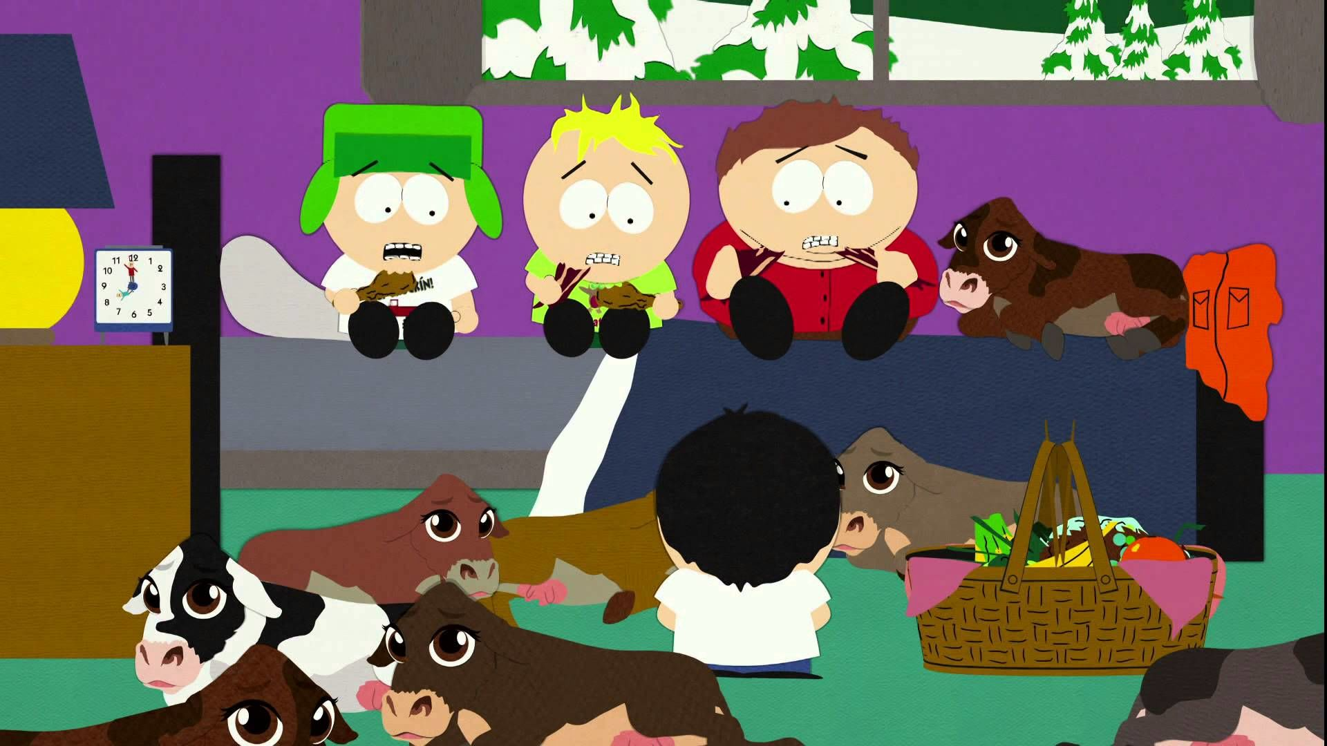 south park fun with veal essay