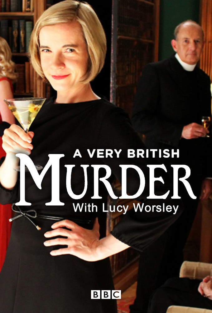 A Very British Murder with Lucy Worsley cover
