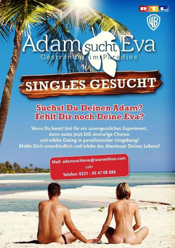 Adam sucht Eva - Gestrandet im Paradies cover