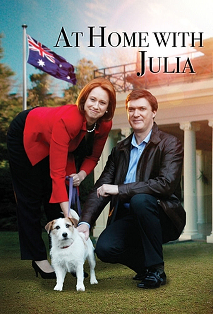 At Home with Julia cover
