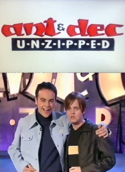 Ant and Dec Unzipped cover