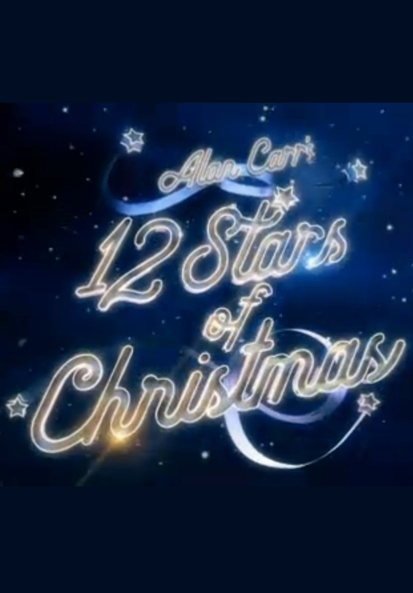 Alan Carr's 12 Stars of Christmas cover