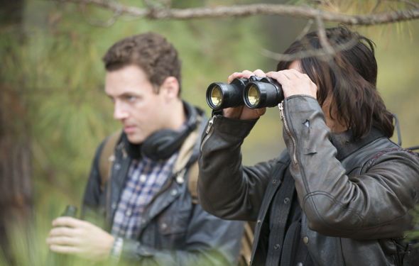 Daryl finds trouble while on a run; Rick and the group feel like outsiders in Alexandria, where trouble approaches the gates.