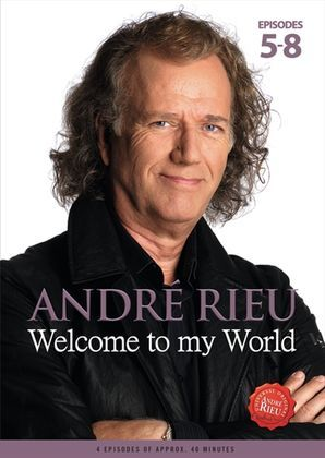 André Rieu: Welcome to my World cover