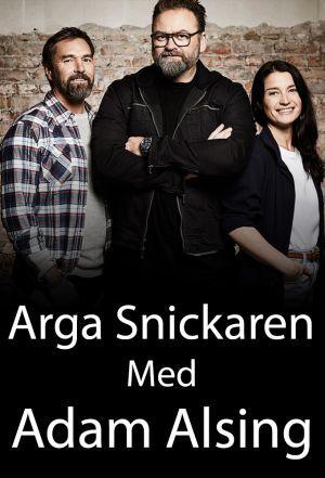 Arga Snickaren Med Adam Alsing cover