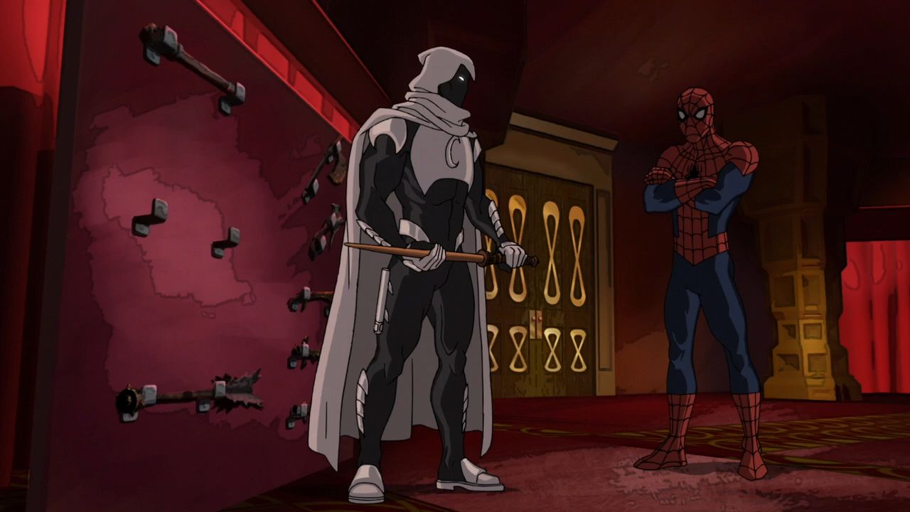 The Moon Knight Before Christmas - Marvel's Ultimate Spider-Man VS ...