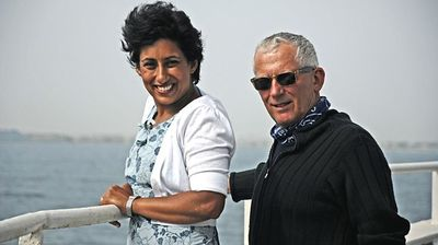 Nick Hewer and Saira Khan