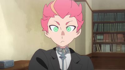 Amanda O Neill And Holy Grail Little Witch Academia S01e17 Tvmaze