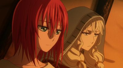 lovers ever run before the clock the ancient magus bride s01e11