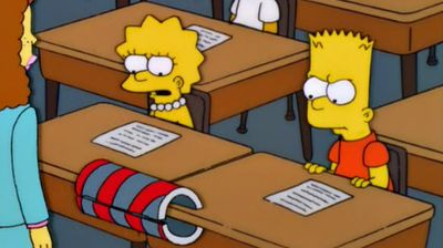 Bart vs. Lisa vs. 3rd Grade