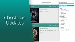 Christmas Updates and Features