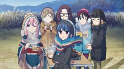Mount Fuji and the Laid-Back Camp Girls
