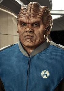 Lt. Cmdr. Bortus