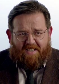 Nick Frost Dr. Iain Glennis